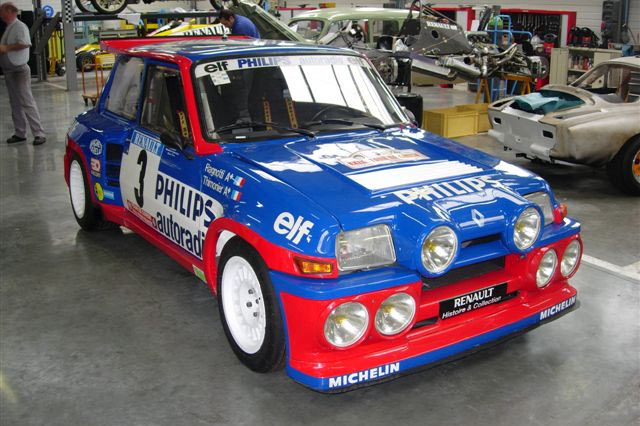 Manolopoulos 2010 Renault 5 Turbo: Historia Del Renault 5 Turbo