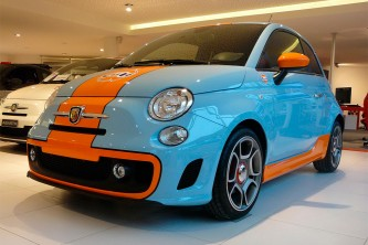 Abarth 500 GULF Special Edition