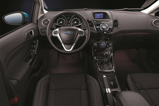 Ford Fiesta 2013 interior