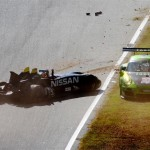 VÍDEO: Increíble accidente del Nissan DeltaWing en Petit Le Mans
