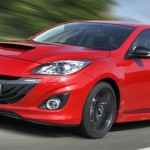 Mazda3 MPS 2013 en movimiento