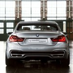 BMW Serie 4 Coupe Concept parte trasera