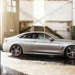BMW Serie 4 Coupe Concept perfil
