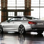 BMW Serie 4 Coupe Concept trasera