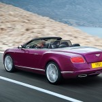 Bentley Continental GTC Speed 2013 trasera