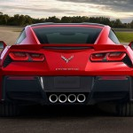 Chevrolet Corvette Stingray trasera