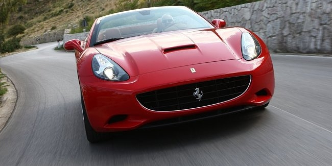 Ferrari California turbo portada