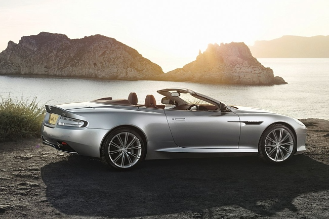 Aston Martin DB9 2013 lateral convertible
