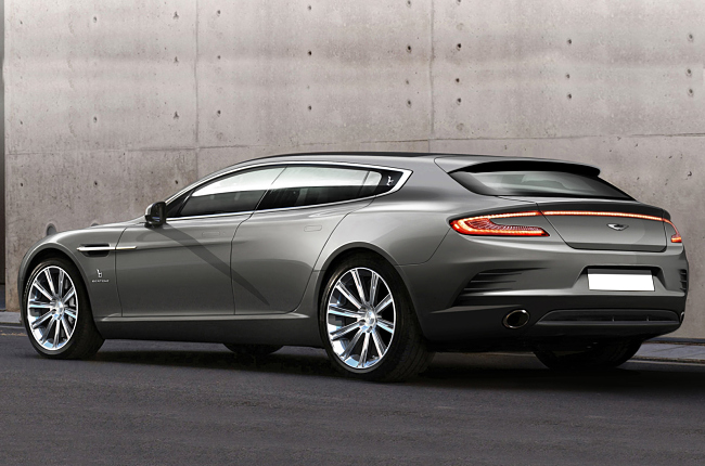 Aston Martin Rapide shooting brake trasera