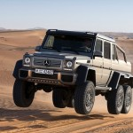 Mercedes G63 AMG 6×6 Concept
