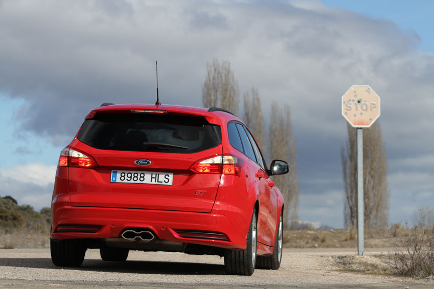 Prueba Ford Focus ST Sportbreak