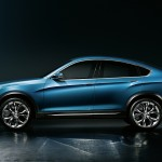 BMW X4 Concept lateral