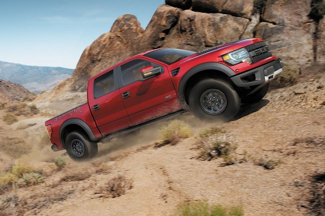 Ford F-150 SVT Raptor Special Edition campo