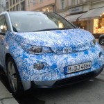 BMW i3 fotos espia frontal