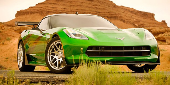 coches Transformers 4 Corvette C7