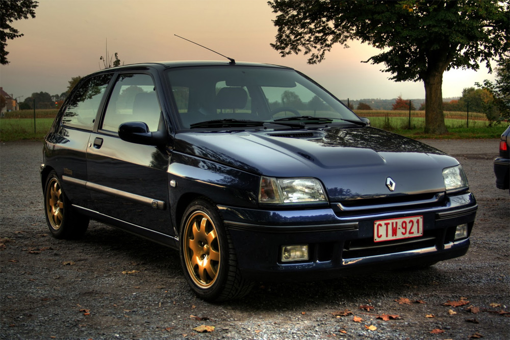 ESPECIAL: Renault Clio Williams