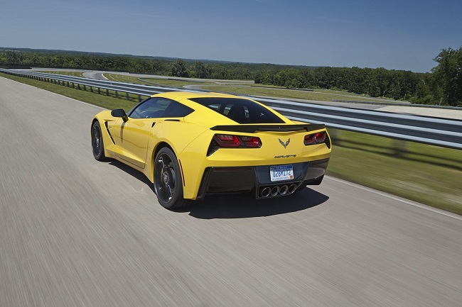 Chevrolet Corvette Stingray Z51 trasera