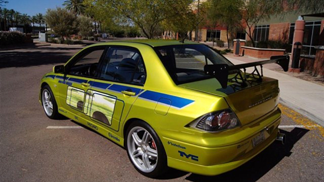 Lancer Fast And Furious Sale a subasta el Mits...