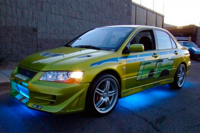 Paul-Walker's-Mitsubishi-Evo-From-2-Fast-2-Furious