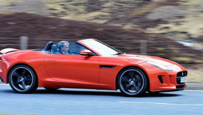 Top Gear temporada 20 Jaguar F-Type