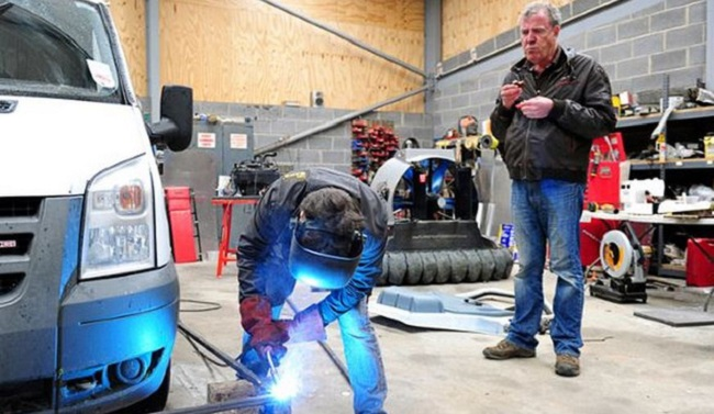 Top Gear temporada 20 hovercraft