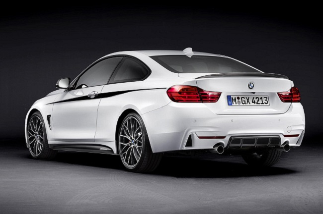 BMW Serie 4 Coupé M Performance trasera