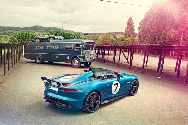 Jaguar Project 7 Concept d-type