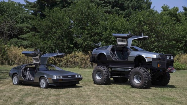 coleccion DeLorean dmc 12 monster truck