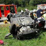 Accidente 911 gt3 toyota yaris vuelco