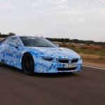 BMW i8 produccion movimiento frontal
