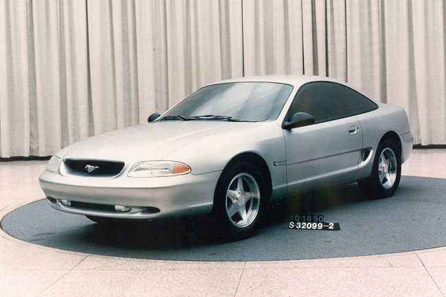 """Ford Mustangs That Never Were: """"Bruce Jenner"""" design study f"""