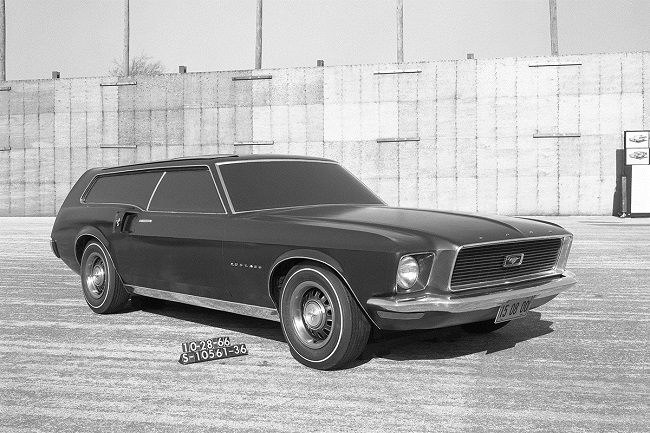 Ford Mustang Station Wagon de 1966