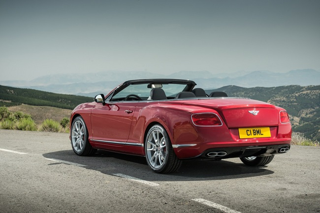 Bentley Continental GT V8S, Spain, 2 & 3 July 2013