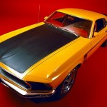 Historia Ford Mustang color amarillo autobus escolar Boss 302 1969