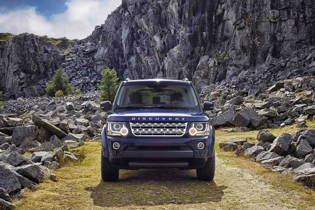 Land Rover Discovery frontal