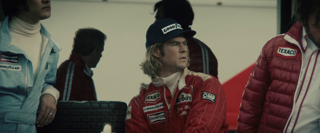 Rush de Ron Howard: James Hunt
