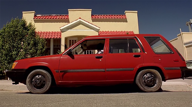 Coches Breaking Bad Toyota Tercel de Jesse Pinkman