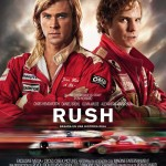 Cartel película Rush de Ron Howard