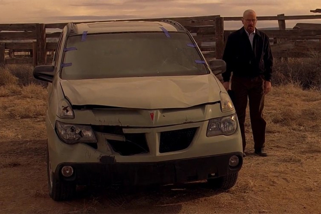 coches de Breaking Bad Pontiak Aztek