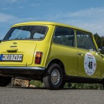 El MINI clásico de Mr. Bean participa en el Creme 21 Youngtimer Rally