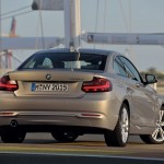 BMW Serie 2 220d trasera
