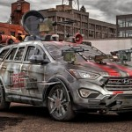 Hyundai Santa Fe Zombie Survival Machine