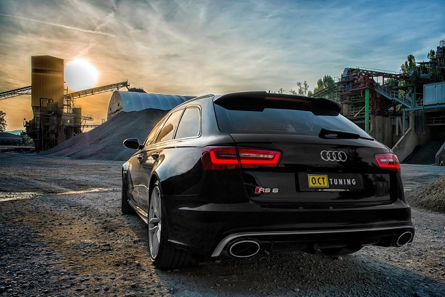OCT Tuning Audi RS6 Avant trasera