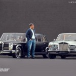 Los presentadores de Top Gear Jeremy Clarkson, May y Hammond a escala 1:18