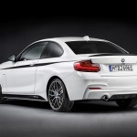 BMW Serie 2 paquete M Performance trasera