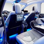 The interior of Ford Edge Concept is open and airy, with a level of craftsmanship and material quality that consumers around the world will appreciate.