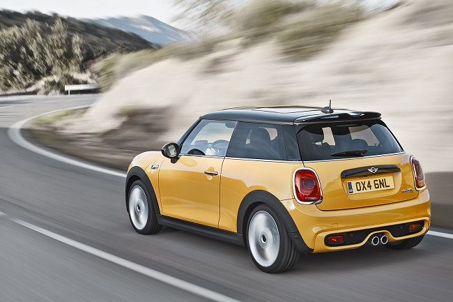 MINI 2014 Cooper S movimiento