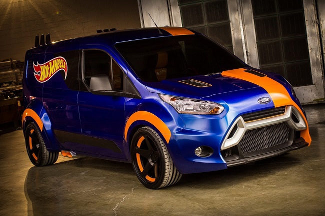 SEMA 2013 Ford Transit Hot Wheels