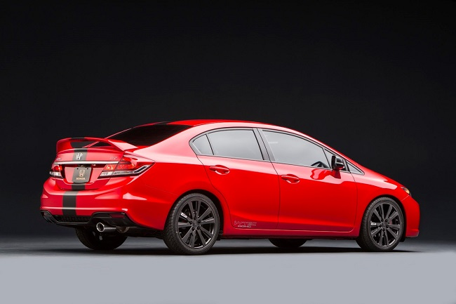 2013 Honda Civic Si Sedan Project.
