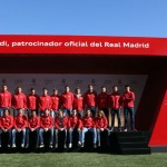 Coches Audi Plantilla Real Madrid